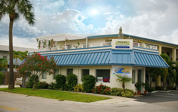 Blue Wave Motel Clearwater Beach Florida